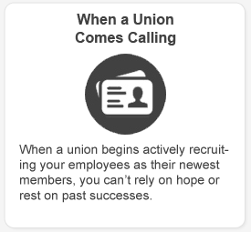When a Union Comes Calling