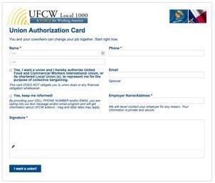 UFCW e-card