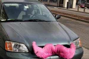 Lyft_Car_Pink_Mustache