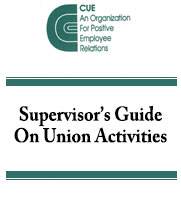 Supervisor's Guide on Union Activities
